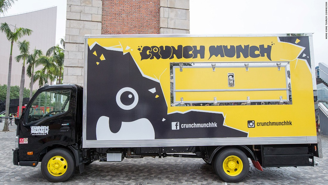 <strong>Crunch Munch: </strong>Before the pilot scheme, food trucks in Hong Kong only made temporary appearances at private events.
