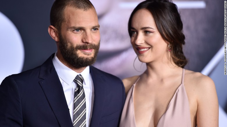 'Fifty Shades' stars on reuniting for sequel