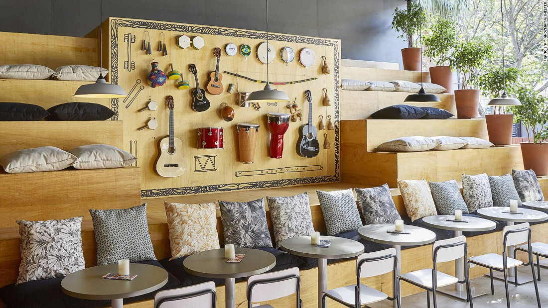 <strong>Mama Shelter, Rio de Janeiro<strong></strong>: </strong>A creative haven for innovators and artists, the Mama Shelter hotel brand boasts locations in key cities around the world. The latest to join the fold is a 50-room boutique address in Rio de Janeiro.