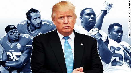 Why athletes are getting more political in the age of Trump