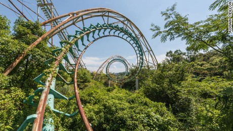 Dreamland decay: The final moments of a forgotten theme park