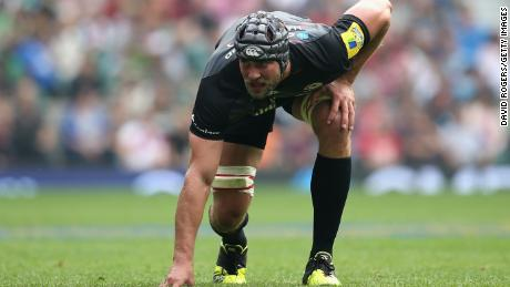 Hargreaves made 79 appearances for English Premiership side Saracens
