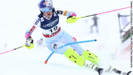 Lindsey Vonn is favorite for Sunday's downhill in St. Moritz.