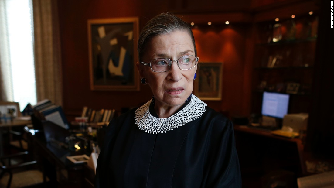 Ruth Bader Ginsburg: We're not mindful enough of 'what ...
