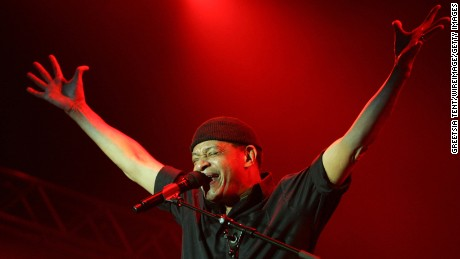Al Jarreau during North Sea Jazz Festival in Rotterdam, Netherlands July 2006.