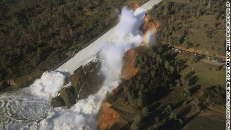 Oroville Dam: Residents advised to remain vigilant as storm advances