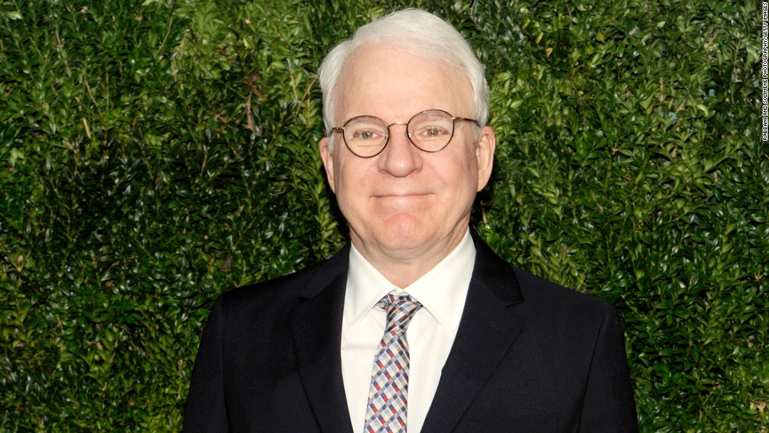 """Parenthood"" actor Steve Martin became a first-time dad at 67 with wife Anne Stringfield."