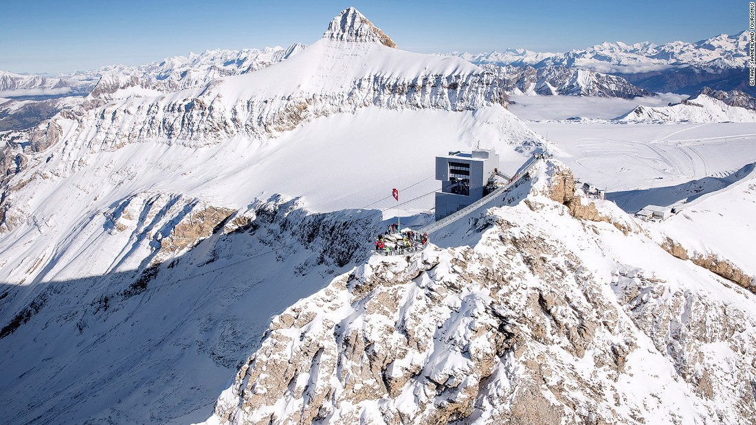 <strong>Gstaad, Switzerland: </strong>Saanen private airfield is a VIP gateway to one of Switzerland's most celebrated skiing areas. The airfiled is just three miles from Gstaad and its famous 136 miles of runs.