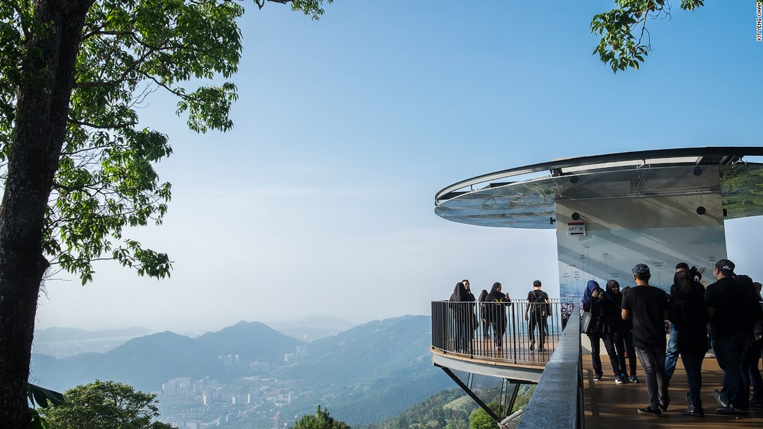 <strong>Penang Hill: </strong>Penang's highest point has lush hiking trails all the way down to the botanical gardens and the world's steepest funicular railway.  Its new eco-park, The Habitat, aims to promote environmental consciousness and conservation awareness tourism.