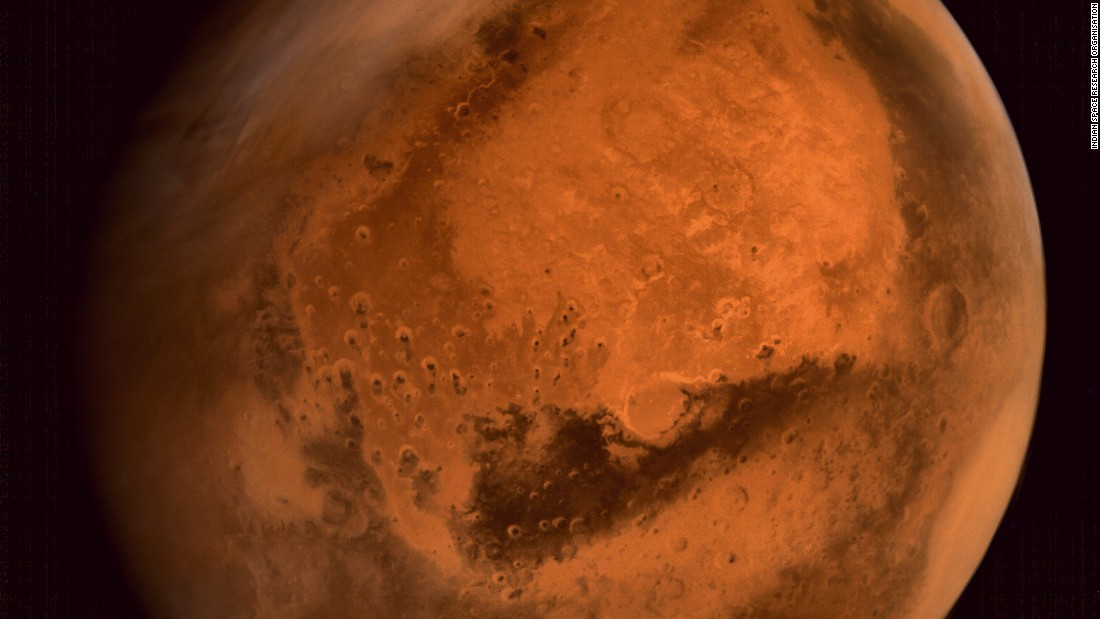 Regional dust storm activities over Northern Hemisphere of Mars.