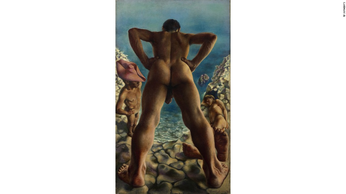 """Bathers"" (1938) by Pavel Tchelitchew"