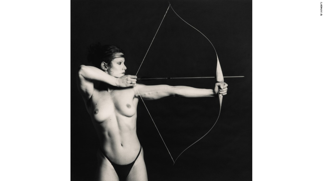 """Bow and Arrow"" by Robert Mapplethorpe"