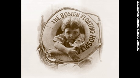 Tufts Medical Center staff members are hoping to identify the child in this 1914 image.