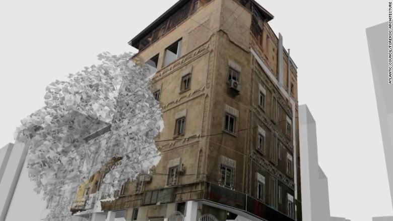3D model built to prove Aleppo hospital attack