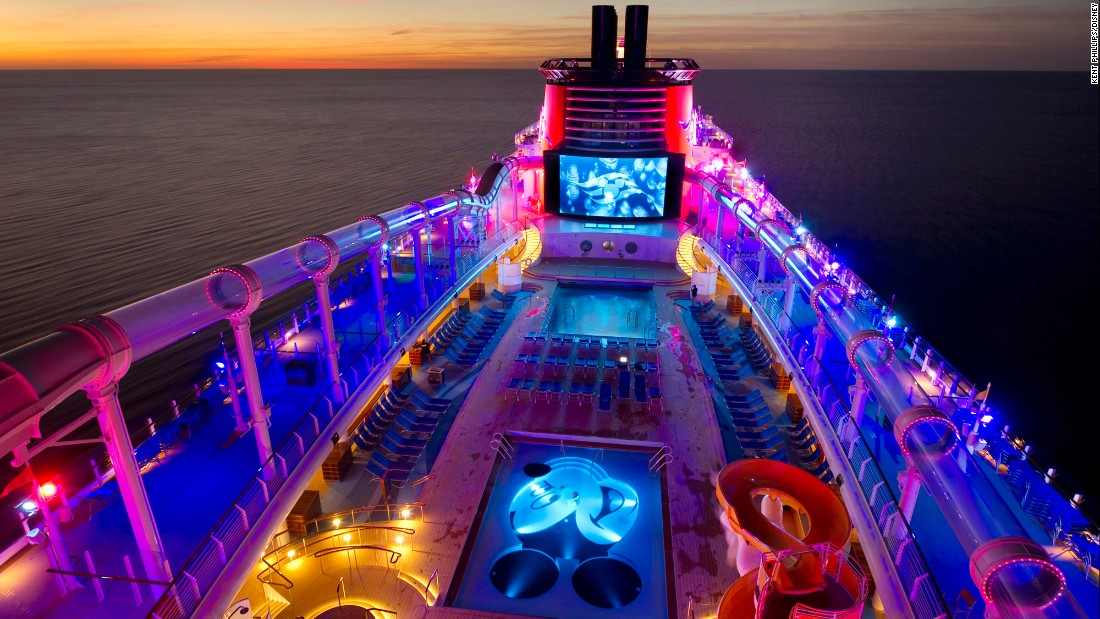 <strong>Best overall cruise (large). </strong>Disney Cruise Line won eight awards, and Disney Dream won five of them in the large ship category: best overall cruise, best cabins, best public rooms, best service and best shore excursions.
