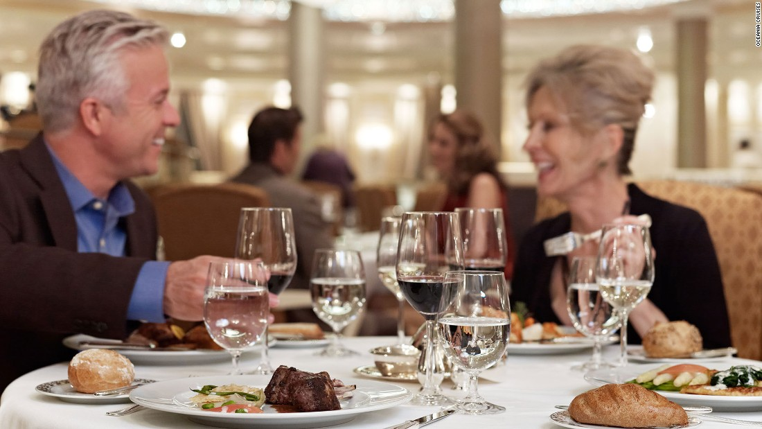 <strong>Best ships for dining. </strong>Oceania Cruises' midsize ship Marina won the award for best dining, as it often does. The ship earned four awards overall for Oceania Cruises, including best service, best cabins and best fitness.