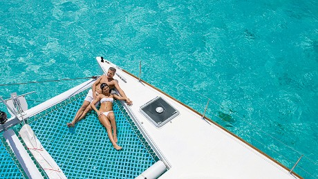 Private catamaran, Zoëtry Paraiso de la Bonita Riviera Maya, Mexico