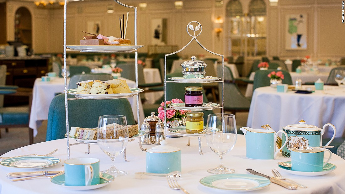 <strong>Fortnum & Mason:</strong> London's premier tea and assorted goods emporium since 1707. Tea sommeliers here will assist guests in finding their perfect cuppa.