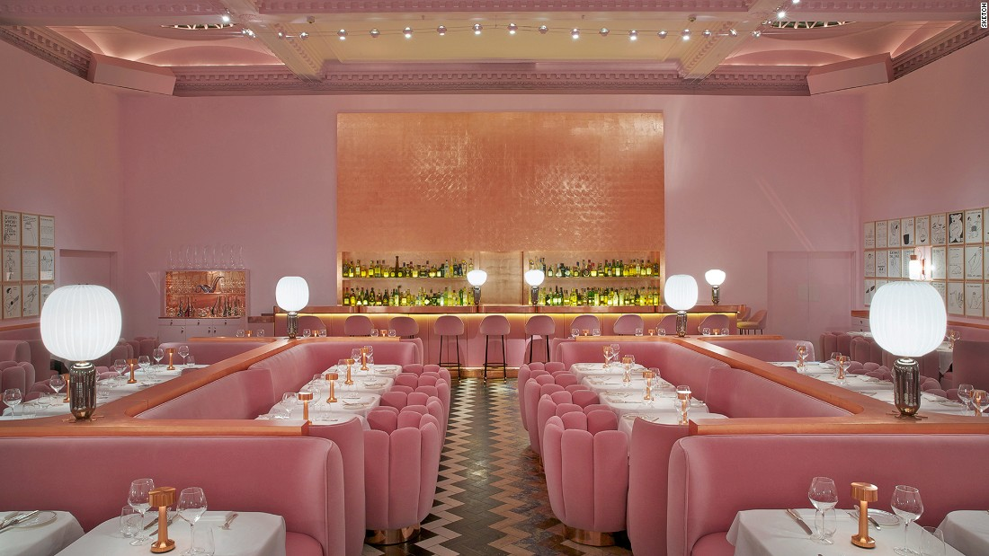 <strong>Sketch:</strong> Avant-garde and artsy, Sketch is one of London's most striking venues for afternoon tea.