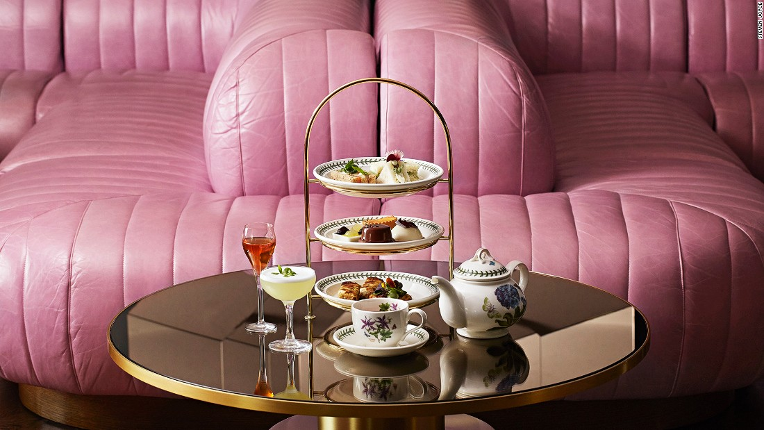 <strong>Wyld Tea, Dandelyan: </strong>Dandelyan was known as one of the world's best bars before launching its 1970s-inspired afternoon teas in late 2016. The trendy tea experience is paired with botanical cocktails and delicious gourmet bites.