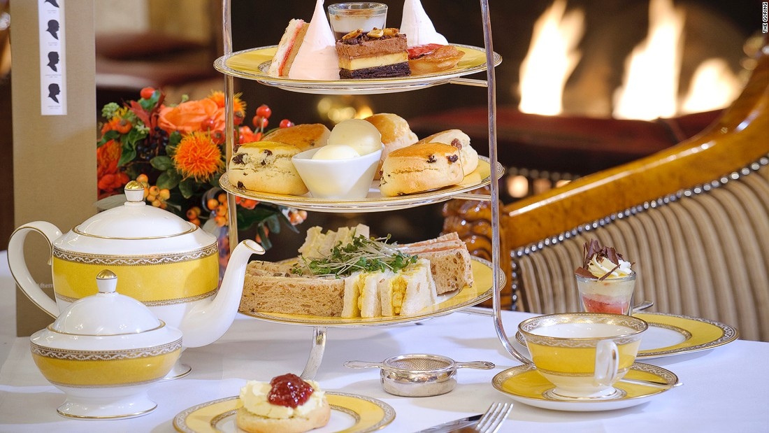<strong>The Goring:</strong> A favorite of the Queen for decades, The Goring offers a regal and classic afternoon tea experience.