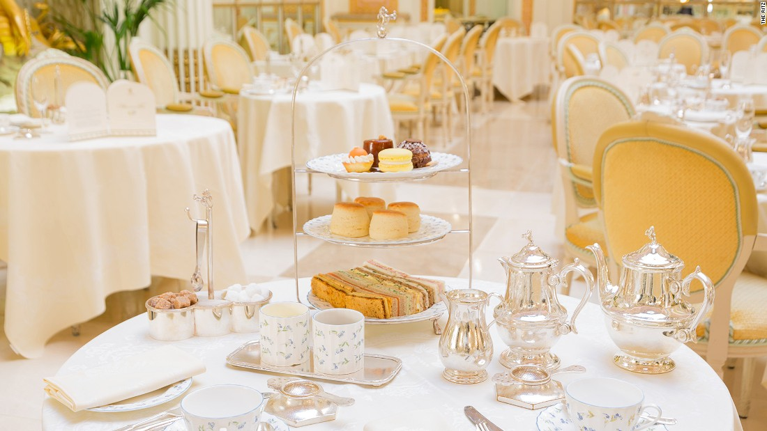 <strong>The Ritz: </strong>The Ritz's firmly traditional and lavish offering has put theater back into tea time: harpists, pianists and classical quintets entertain guests and teas are served in silver pots with waiters dressed in immaculate formal wear.