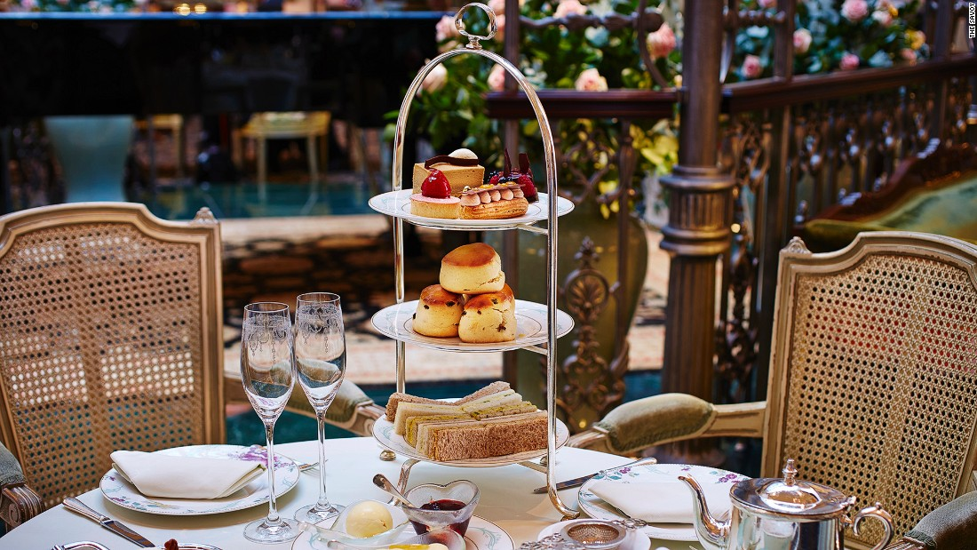 <strong>The Savoy: </strong>With its fairytale-like winter garden gazebo underneath a glass dome and entertainment by a classical pianist, The Savoy is one of London's most elegant afternoon tea settings.