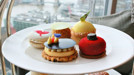 london afternoon teas Ting at the Shard