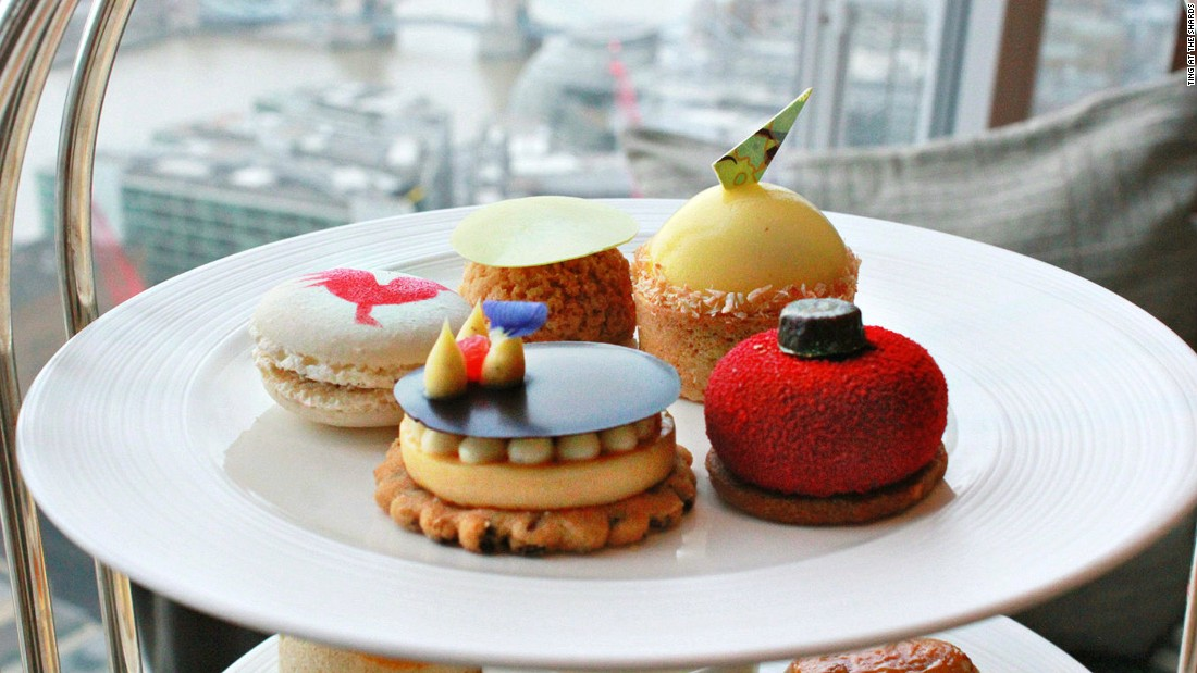 <strong>Ting: </strong>Ting, Shangri-La at the Shard's flagship restaurant, doesn't only impress with its 35th-floor skyline views but also with its fine variety of loose leaf teas and  traditional English or Asian-inspired afternoon tea nibbles.