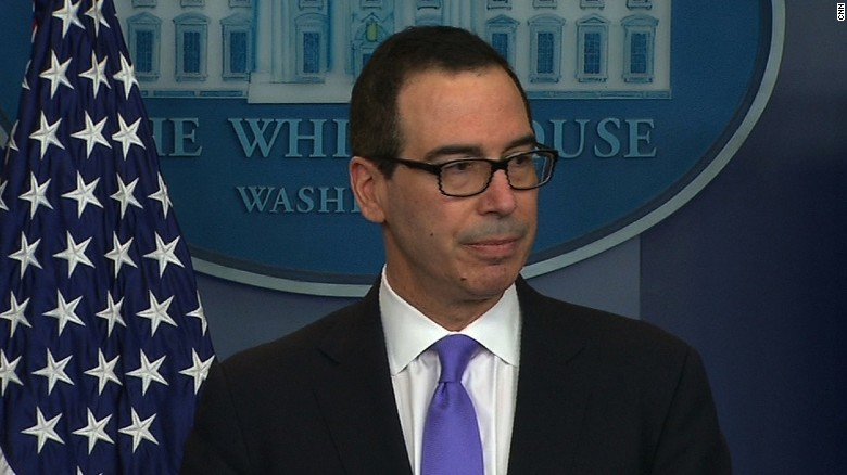 Mnuchin: Current sanctions on Russia in place