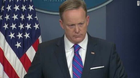 Spicer: Trump concluded there was no trust