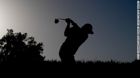 DUBAI, UNITED ARAB EMIRATES - FEBRUARY 04:  Felipe Aguilar of Chile on the 3rd tee during the continuation of the weather delayed second round of the Omega Dubai Desert Classic at Emirates Golf Club on February 4, 2017 in Dubai, United Arab Emirates.  (Photo by Ross Kinnaird/Getty Images)