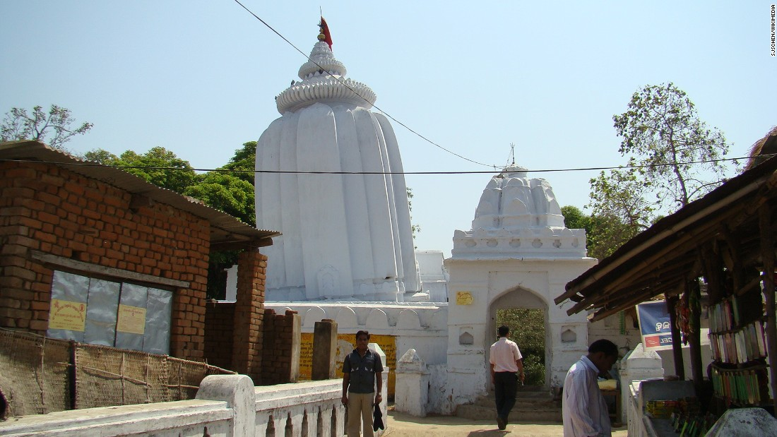 "Dedicated to the Indian God Lord Shiva, the leaning temple of Huma is  thought to have been constructed between <a href=""http://odisha.gov.in/e-magazine/Orissareview/2013/Feb-Mar/engpdf/90-92.pdf"" target=""_blank"">1545 and 1560</a> and is part of a larger shrine, whose different parts lean to different sides. It is not known whether the temple's lean is intentional or a result of its soft riverside foundations."