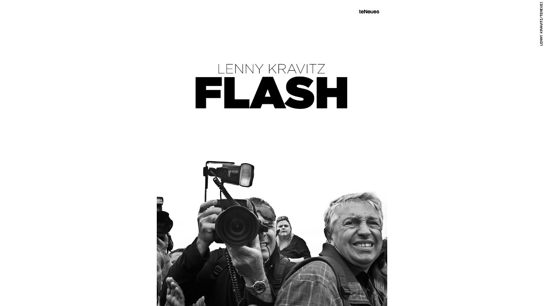 """Flash"" by Lenny Kravitz, published by teNeues, is out now."