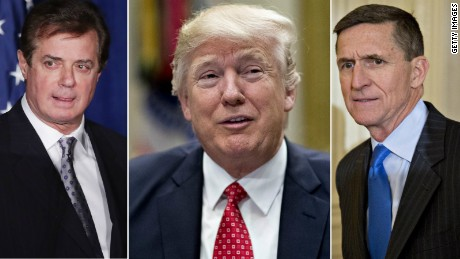 Paul Manafort Donald Trump Michael Flynn