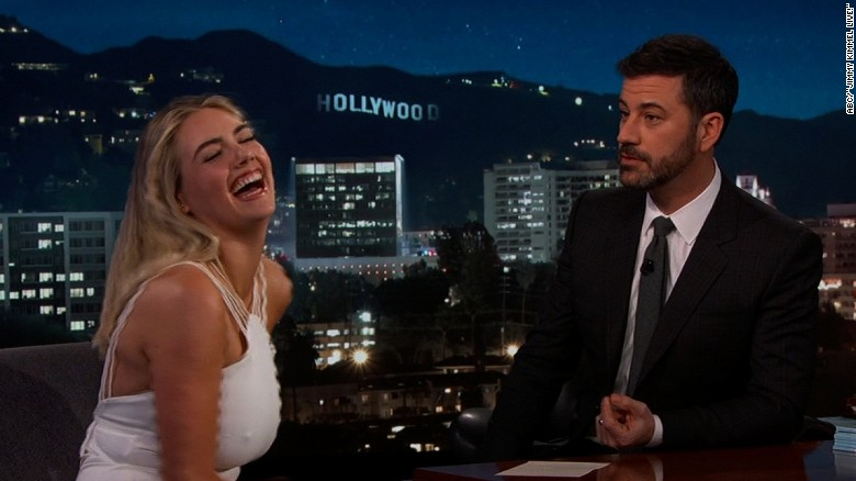 Jimmy Kimmel mocks Kate Upton's 'SI' cover