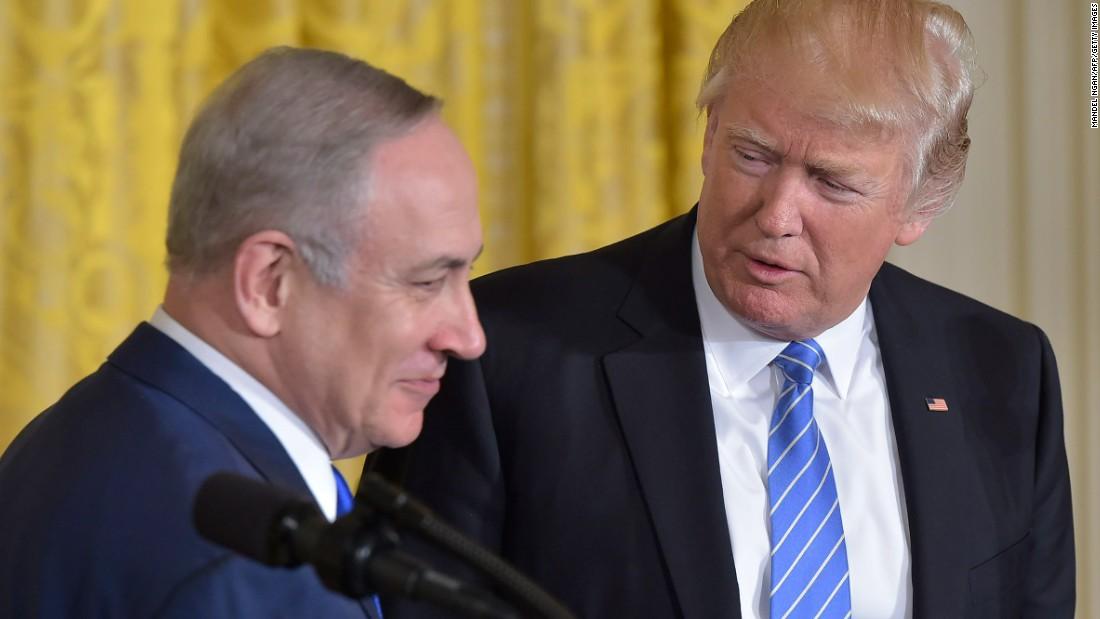Netanyahu: No greater supporter than Trump