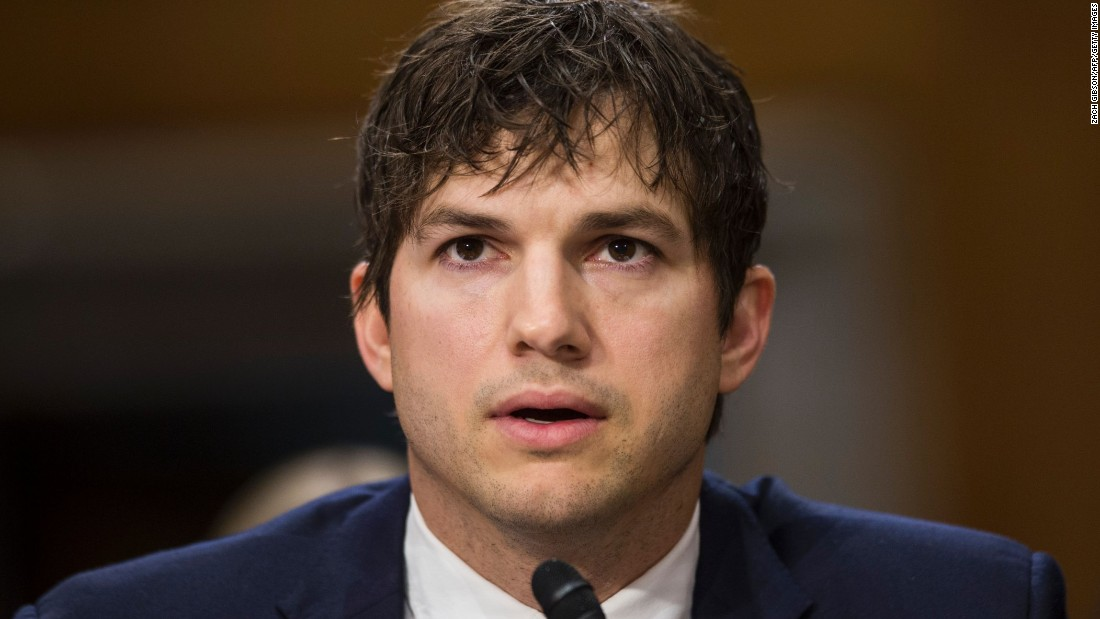Ashton Kutcher passionately testifies about his anti-sex ... Ashton Kutcher