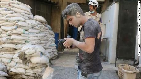 Khaled Khatib Syria White Helmets