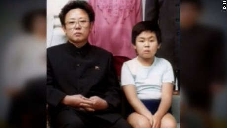 Kim Jong Nam with his father, former North Korean leader Kim Jong Il.