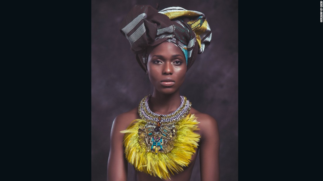 "Despite the intricacy of her designs, Quansah's philosophy is simple: ""Create something that is a piece of wearable art. Something that you can pass down generation to generation,""  she said."
