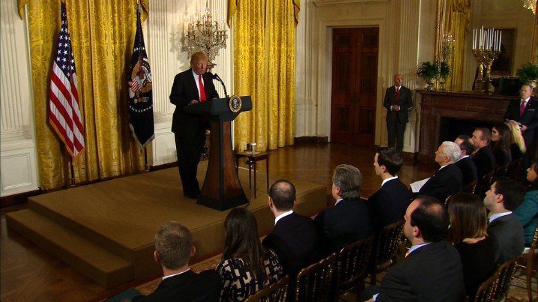 Twitter Explodes Following Interaction Between Trump And Reporter During Press Conference