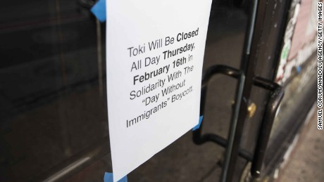 Nationwide 'Day Without Immigrants' shuts down businesses