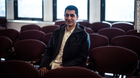 Ahmed El-Mallah hopes to become a nuclear engineer.