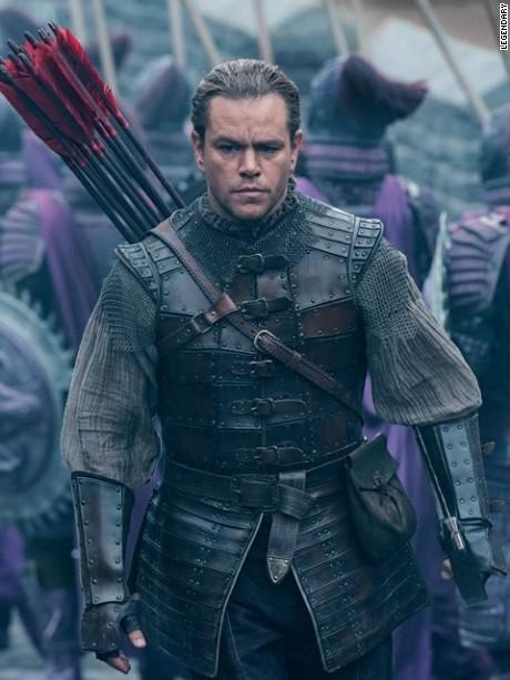 Matt Damon in 'The Great Wall.'