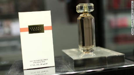 """The new fragrance """"Ivanka Trump"""" at Lord & Taylor on May 9, 2013 in New York City."""