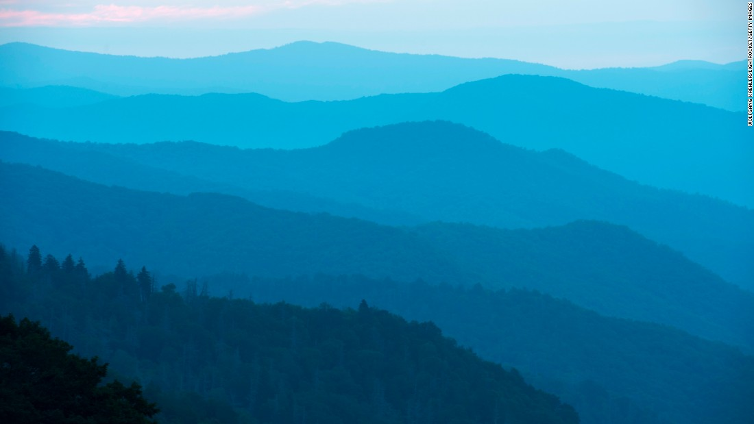 <strong>The most popular national park: </strong>The most popular of the National Park Service's 59 headliner National Parks in 2016, Great Smoky Mountains National Park attracted more than 11 million visits in its centennial year. The park, which straddles the North Carolina/Tennessee border, has incredible views, like this one at sunrise of the Oconaluftee Valley.
