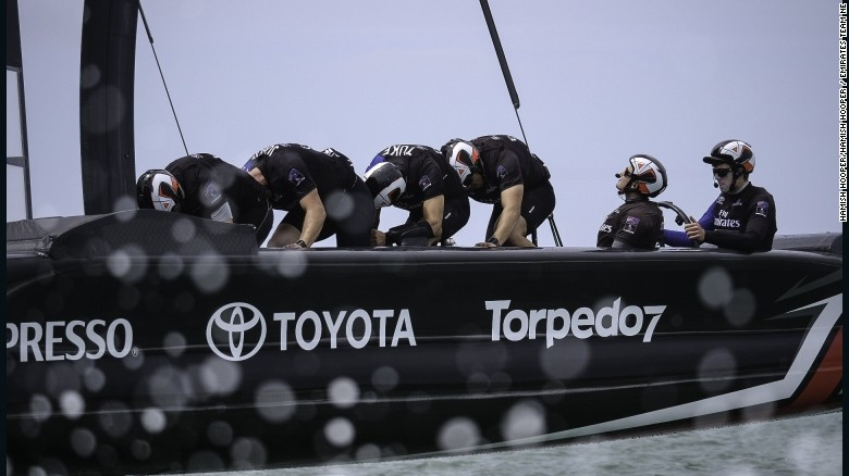 America's Cup: Team NZ 'cycling' to glory?