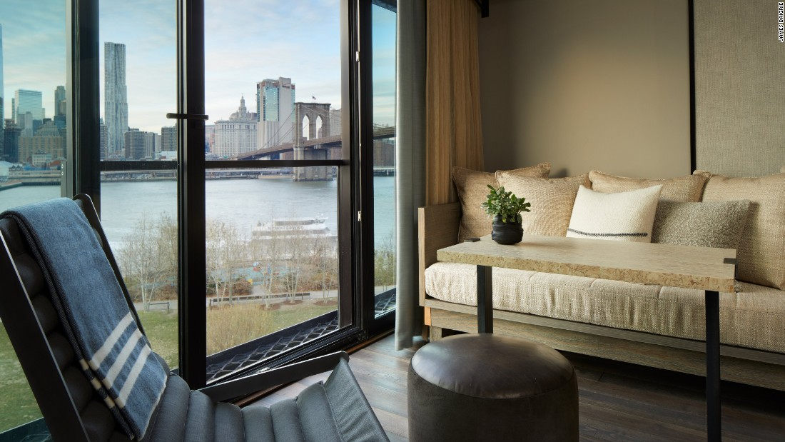 <strong>1 Hotel Brooklyn Bridge </strong>-- The newest member of the Brooklyn hotel scene, the latest hotel from the 1 Hotel brand opened in February in the Dumbo neighborhood.