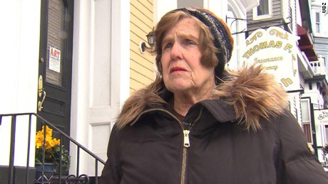 76-year-old woman fined for not shoveling sidewalk.